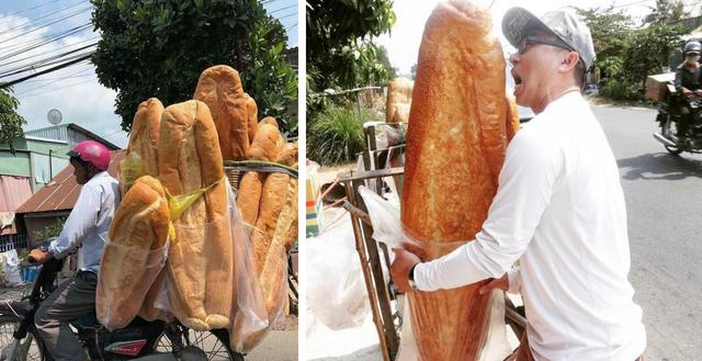 Báo nước ngoài giới thiệu bánh mỳ khổng lồ Việt Nam - 1