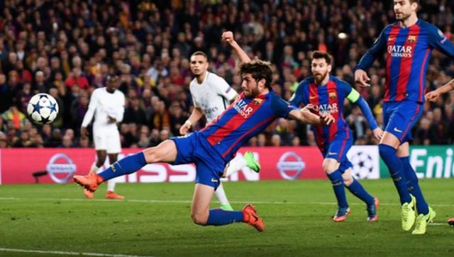 """UEFA: """"Trọng tài đã sai ở trận Barcelona thắng PSG 6-1"""" - 1"""