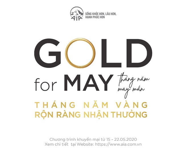Tháng 5 vàng, rộn ràng nhận thưởng cùng AIA Việt Nam - 1