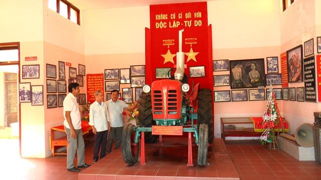 """Chiếc máy cày Bác Hồ tặng nhân dân vùng """"tuyến lửa"""" Vĩnh Linh - 1"""