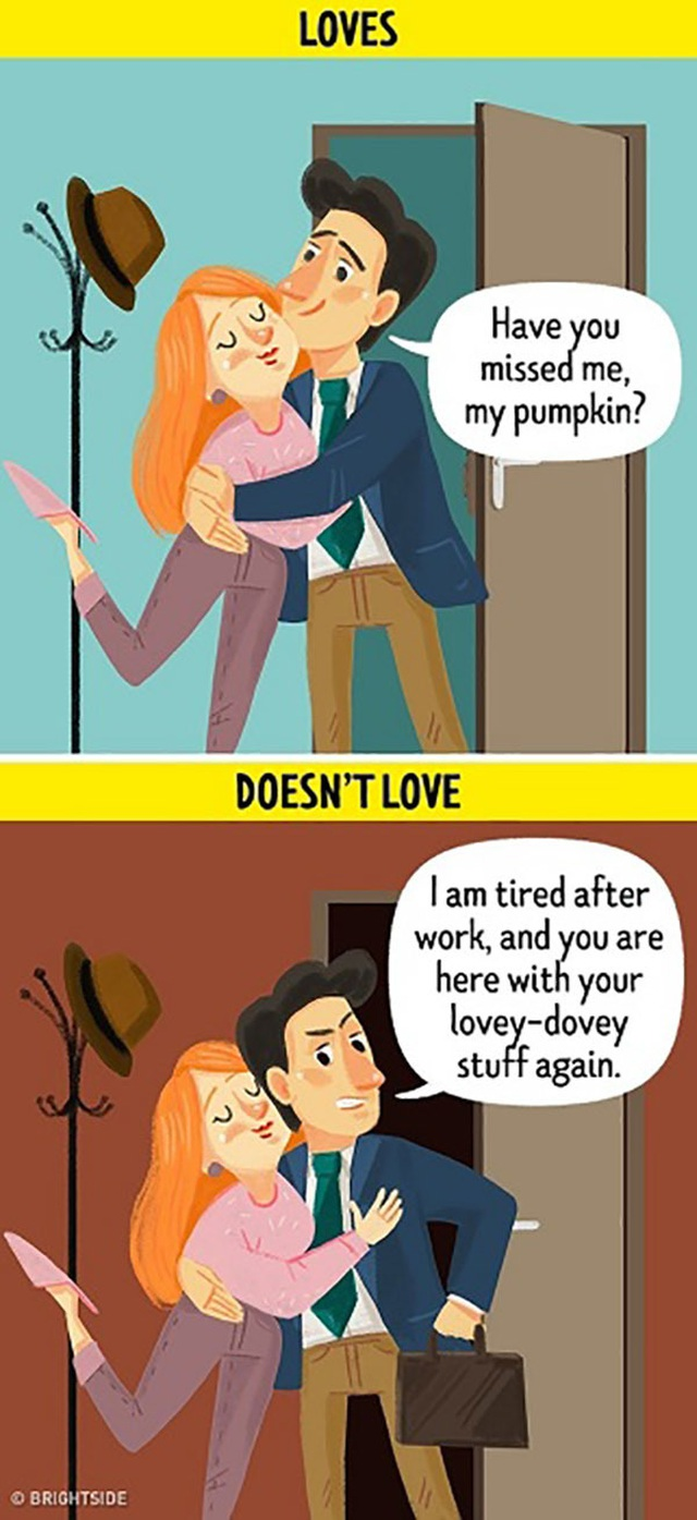 10 dấu hiệu khi chồng đã hết yêu vợ - 10
