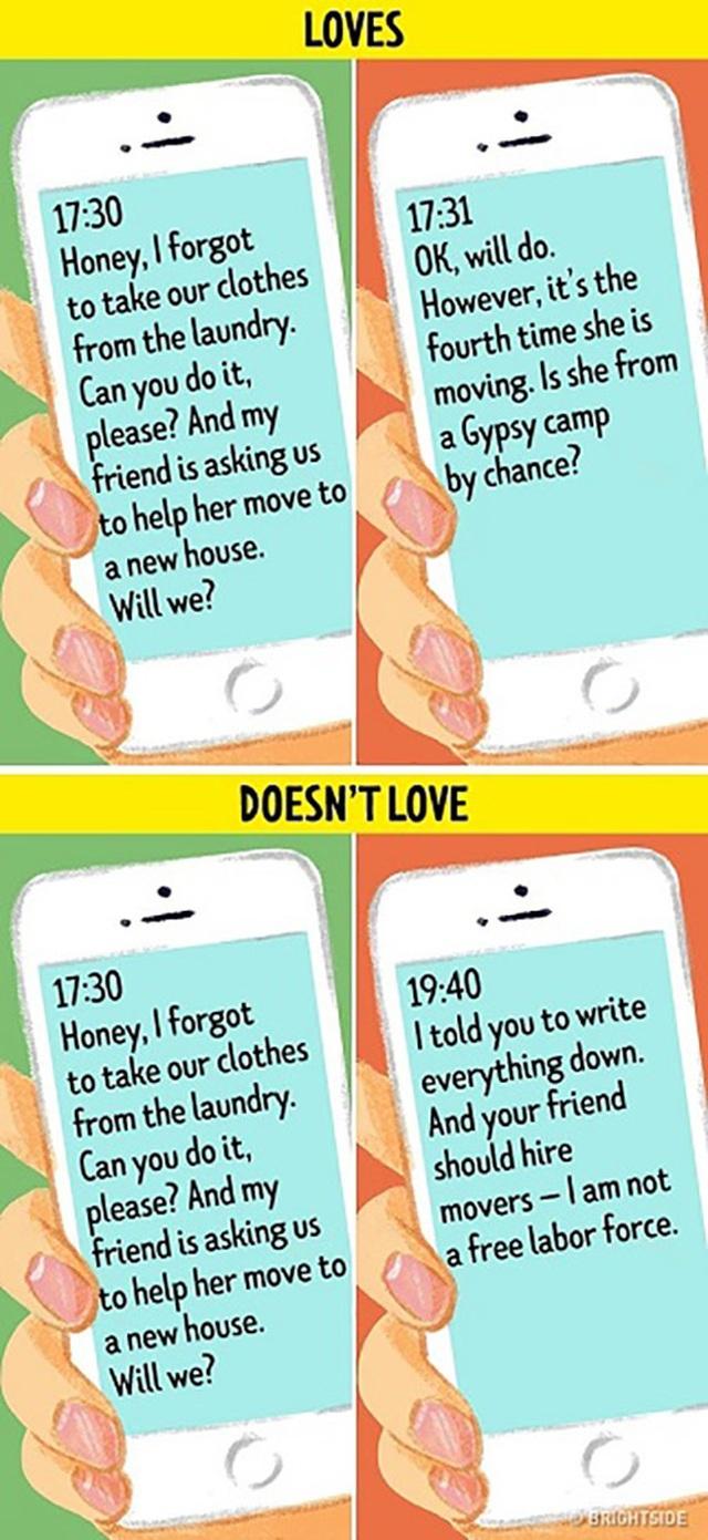 10 dấu hiệu khi chồng đã hết yêu vợ - 7