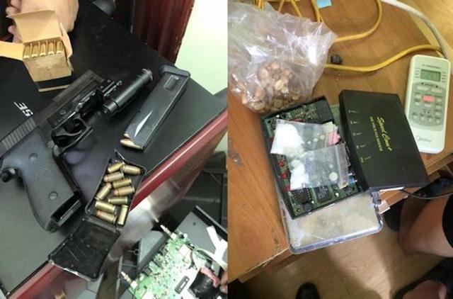 Thủ súng quân dụng đi buôn 6.000 viên ma túy - 3