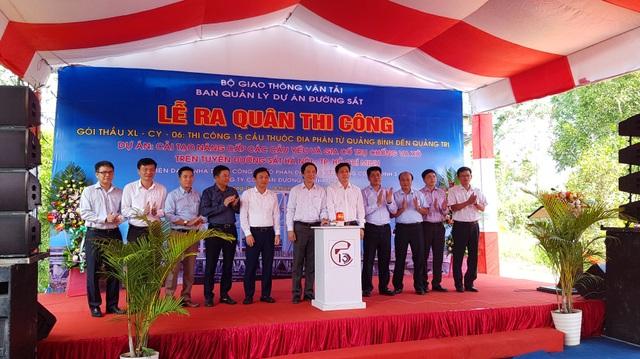 Sửa chữa, nâng cấp 15 cầu đường sắt yếu tại Quảng Trị, Quảng Bình - 3