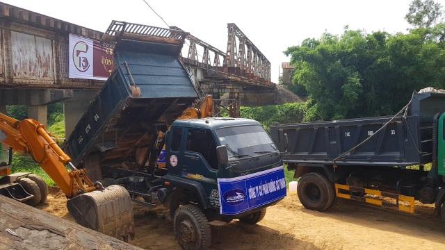 Sửa chữa, nâng cấp 15 cầu đường sắt yếu tại Quảng Trị, Quảng Bình - 8