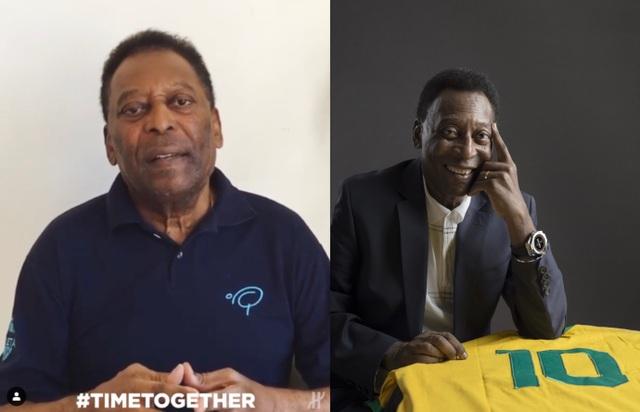 Pelé, Usain Bolt, Lang Lang đồng hành cùng Hublot trong chiến dịch TimeTogether - 1