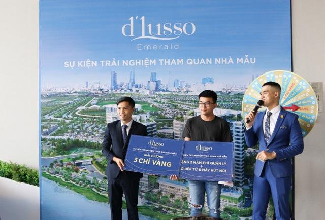 """Nhà mẫu dự án D'LUSSO quận 2 """"nô nức"""" đón hàng trăm khách hàng tham quan - 4"""