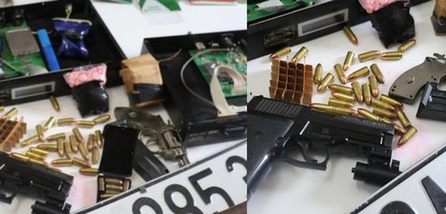 Thủ súng quân dụng đi buôn 6.000 viên ma túy - 4