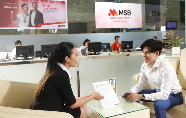 """""""Siêu miễn phí, quà hết ý"""" khi đăng ký gói tài khoản MSB - 2"""