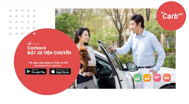 """Carback: Taxi đi tỉnh """"siêu rẻ"""" chỉ như xe khách - 1"""