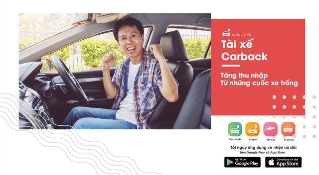 """Carback: Taxi đi tỉnh """"siêu rẻ"""" chỉ như xe khách - 3"""
