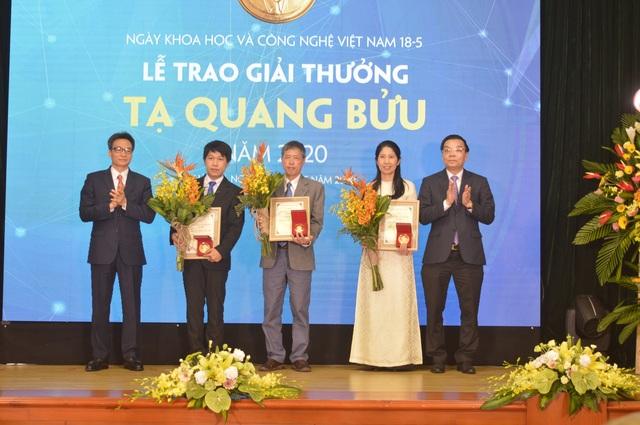 Trao Giải thưởng Tạ Quang Bửu năm 2020 cho ba nhà khoa học xuất sắc - 1