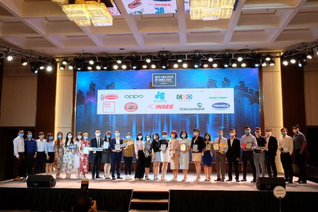 Vietcombank dẫn đầu Top Thương hiệu Nhà tuyển dụng hấp dẫn nhất với sinh viên Việt Nam 2020 trong lĩnh vực tài chính - ngân hàng - 2