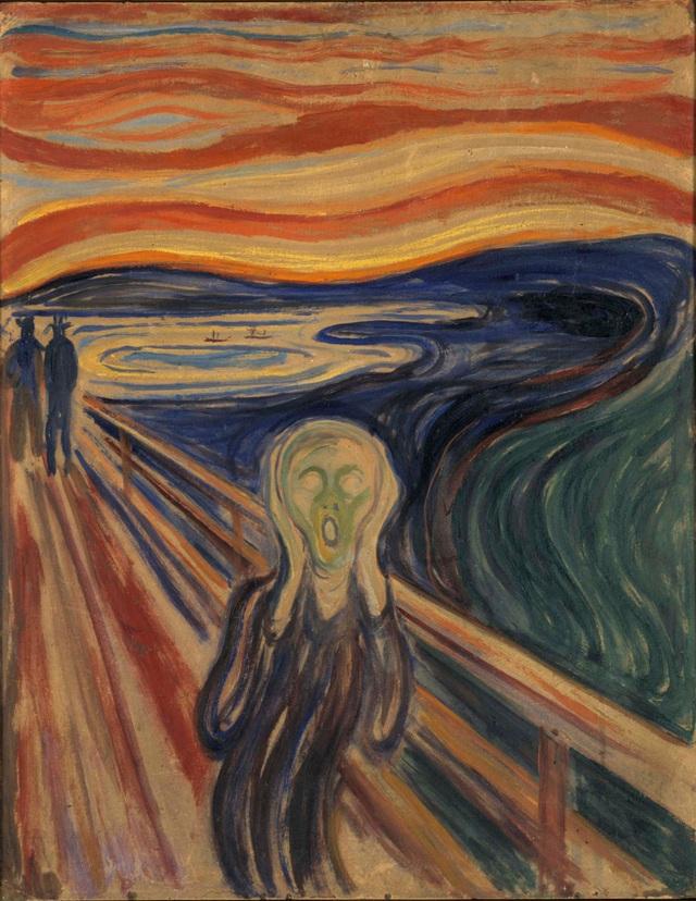 """Bức """"Tiếng thét"""" của Edvard Munch cần phải được... giãn cách - 1"""
