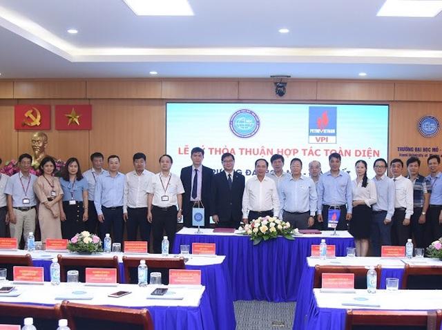 ĐH Mỏ Địa chất hợp tác với Viện Dầu khí để triển khai các nghiên cứu mới - 3