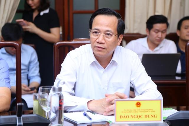"""Bộ trưởng Đào Ngọc Dung: """"Ứng dụng an sinh, không còn là việc của ngày mai"""" - 1"""
