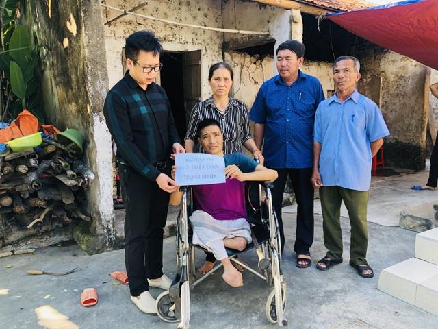 Bạn đọc Dân trí giúp đỡ 2 hoàn cảnh khó khăn tại Nghệ An hơn 120 triệu đồng - 1