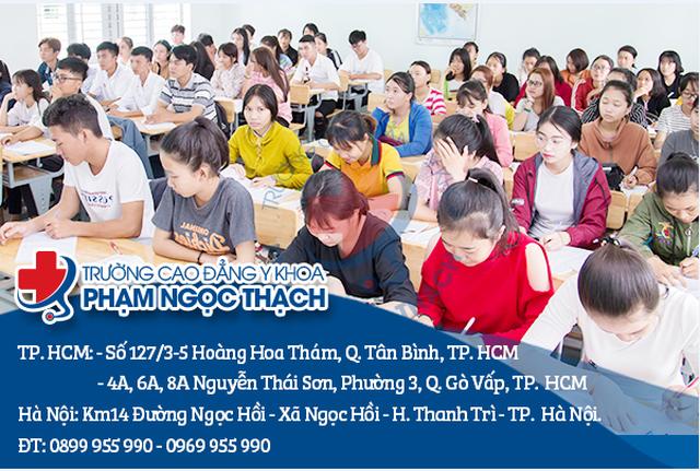 Trường Cao đẳng Y khoa Phạm Ngọc Thạch miễn giảm 100% học phí cho học sinh đăng ký xét tuyển trong năm 2020 - 2