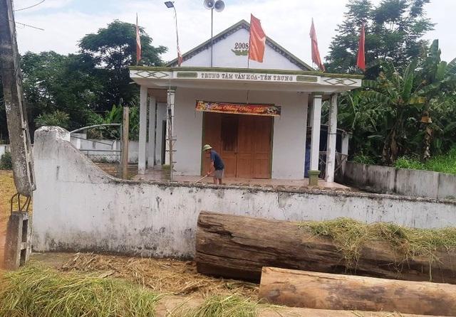 """Nghệ an: Xã """"mượn"""" tiền công đức của đền để tu sửa nhà văn hóa thôn - 2"""