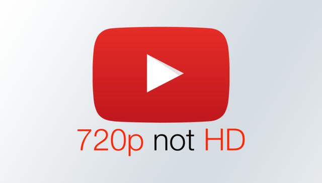 YouTube không còn coi 720p là chuẩn HD - 1