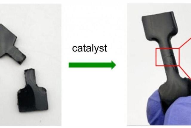 Cao su tự liền được chế tạo từ chất thải - 1