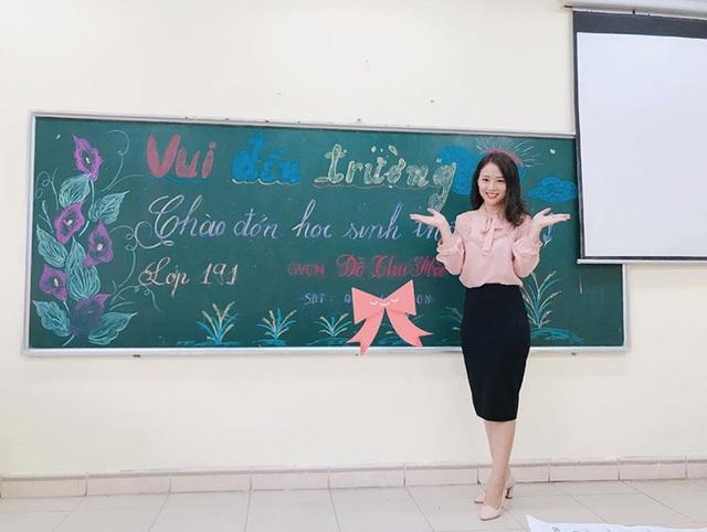 Cô giáo hot girl xinh đẹp, dịu dàng được học trò yêu quý - 3