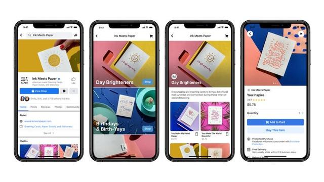 Facebook lấn sân sang thương mại điện tử: Amazon, eBay lo lắng - 1