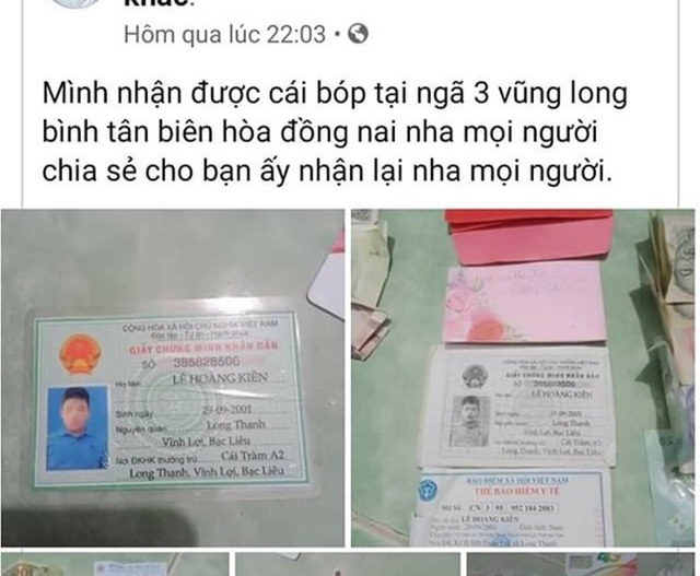 Nam thanh niên mất tích bí ẩn, ví rơi cách nhà... hơn 300km - 3
