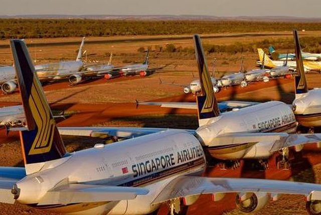 Kinh doanh bãi đỗ máy bay đắt khách trong mùa Covid-19 - 1