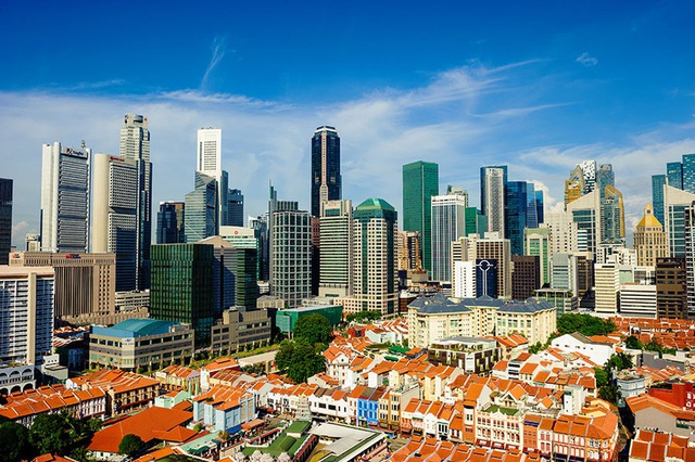 """Singapore """"làm nhà trong rừng"""", người dân ra đường như vào công viên - 1"""