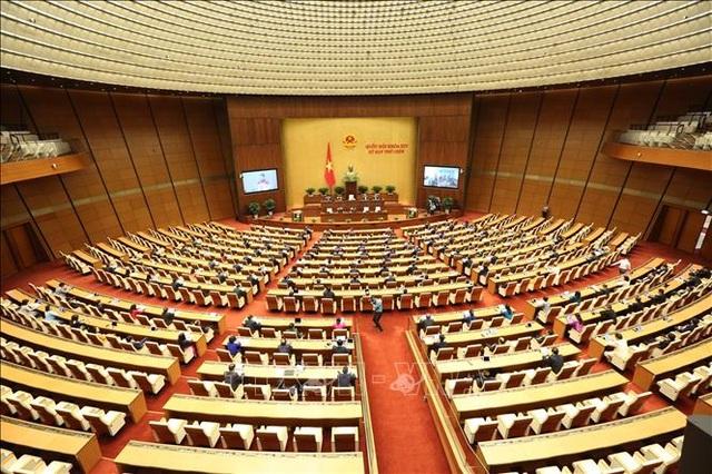 khai mạc kỳ họp quốc hội