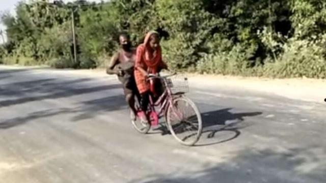 Không đủ tiền trả xe khách, thiếu nữ đạp xe hơn 1.200 km đưa bố về quê - 2