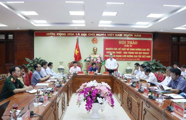 Bộ GTVT sẽ lựa chọn phương án xây dựng cao tốc Buôn Ma Thuột - Nha Trang - 1