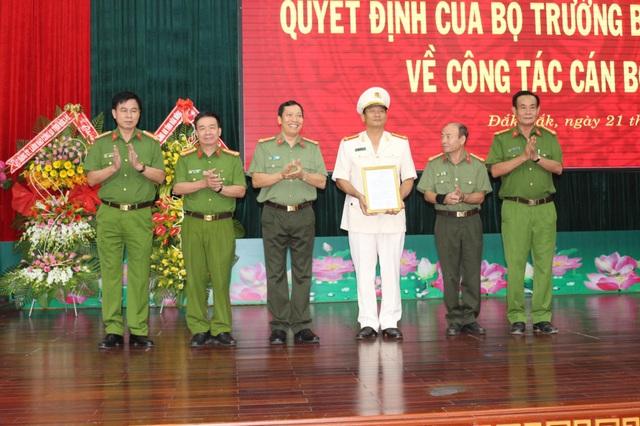 Phó Giám đốc Công an Đắk Nông làm Phó Giám đốc Công an Đắk Lắk - 1