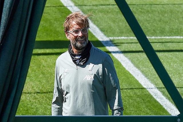 5 điều thú vị trong buổi tập luyện trở lại của Liverpool - 1