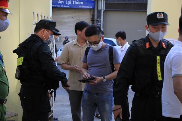 Phiên tòa xử vụ gian lận thi cử ở Sơn La