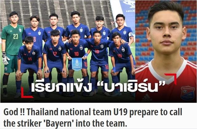 Thái Lan lên kế hoạch triệu tập cựu sao trẻ của Bayern Munich - 1