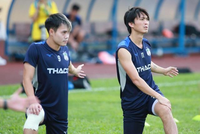 Xuân Trường và dàn sao HA Gia Lai tập luyện chờ đấu Nam Định - 5