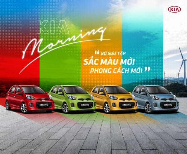 Đa dạng phong cách cùng bộ sưu tập màu mới của Kia Morning - 1