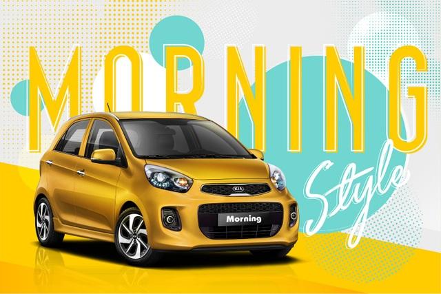Đa dạng phong cách cùng bộ sưu tập màu mới của Kia Morning - 4