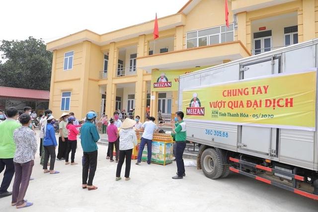2,6 tỷ đồng do nhãn hàng Meizan ủng hộ đến tay người dân 10 tỉnh miền Trung - 1