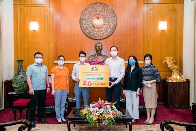 2,6 tỷ đồng do nhãn hàng Meizan ủng hộ đến tay người dân 10 tỉnh miền Trung - 4