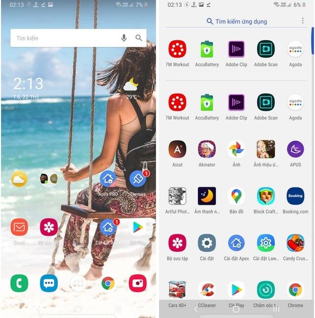 Những bộ giao diện đẹp mắt, siêu nhẹ và mượt mà dành cho smartphone - 4