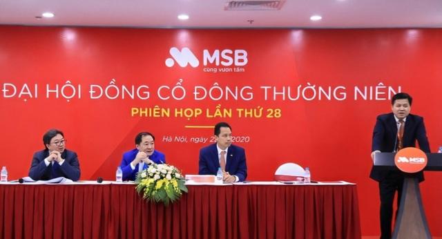 Đại hội cổ đông MSB đặt mục tiêu lợi nhuận năm 2020 đạt 1.439 tỷ đồng - 1