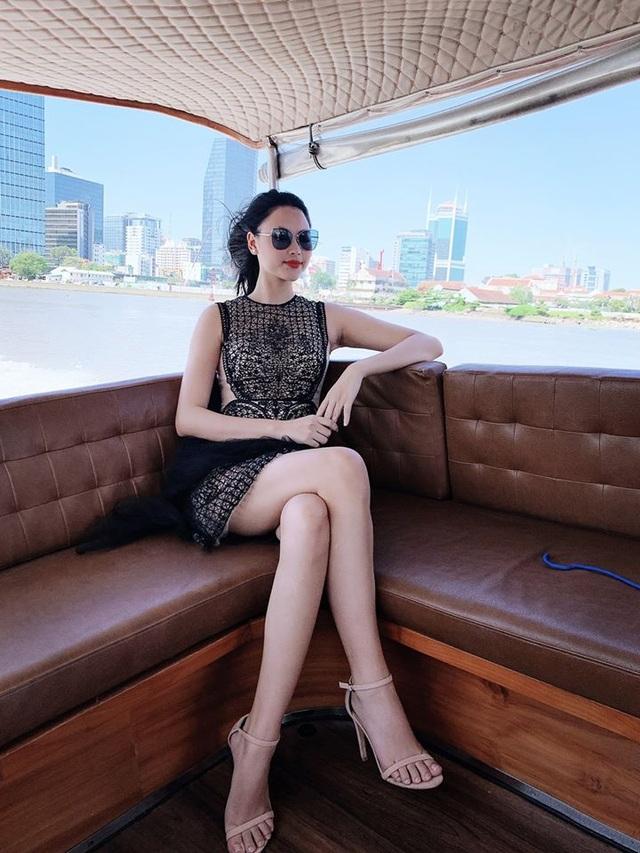 Nhan sắc Thúy Vân và hội mỹ nhân Hoa hậu Hoàn vũ Việt Nam sau nửa năm - 19