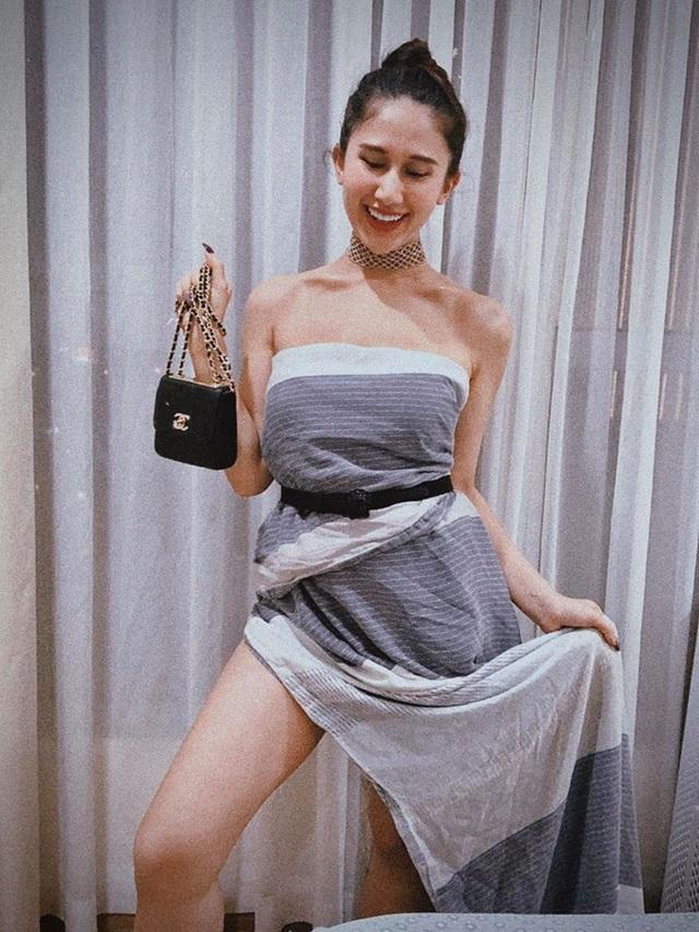 Nhan sắc Thúy Vân và hội mỹ nhân Hoa hậu Hoàn vũ Việt Nam sau nửa năm - 22