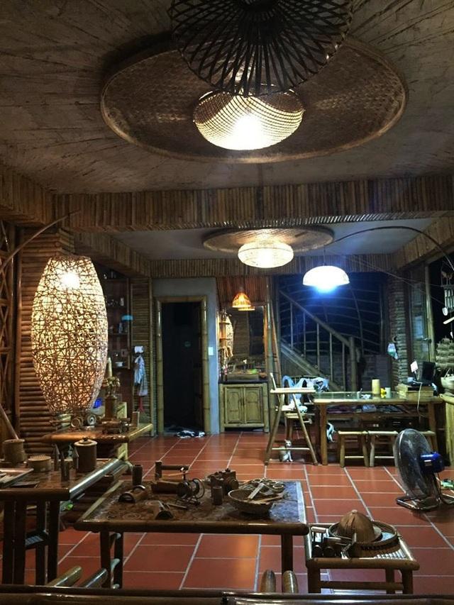 Ngôi nhà độc đáo làm bằng tre và dừa ở Hội An - 5