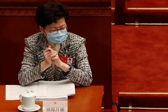 Trưởng đặc khu Hong Kong ủng hộ dự luật an ninh của Trung Quốc - 1