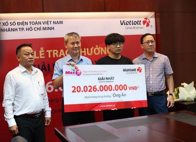 Một sinh viên trúng số 20 tỷ đồngkhông đeo mặt nạ - 1