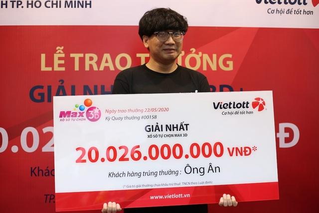 Một sinh viên trúng số 20 tỷ đồngkhông đeo mặt nạ - 2